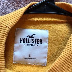 Yellow long sleeve sweater